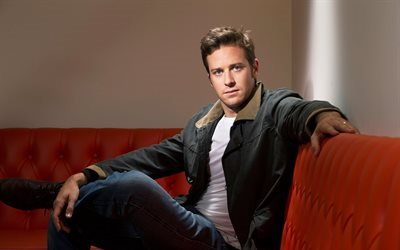 Armie Hammer, American actor, man in suit