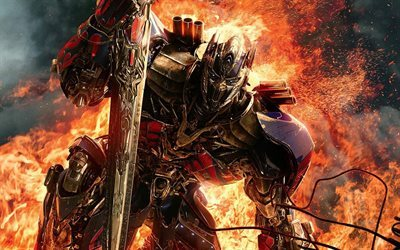 Optimus Prime, Transformers 5, The Last Knight, 2017