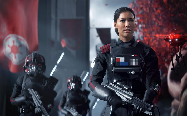 Download Wallpapers Star Wars Battlefront Ii 2017 Cyborgs
