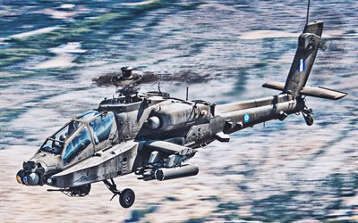 Boeing AH-64 Apache, combat helicopter, Greek Army, combat aircraft, military helicopters, AH-64 Apache, Hellenic Air Force