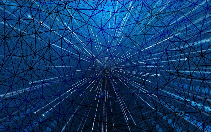 Download Wallpapers World Wide Web Concepts Technology Blue Texture Technology Background Internet Concepts Blue Grid Background For Desktop Free Pictures For Desktop Free