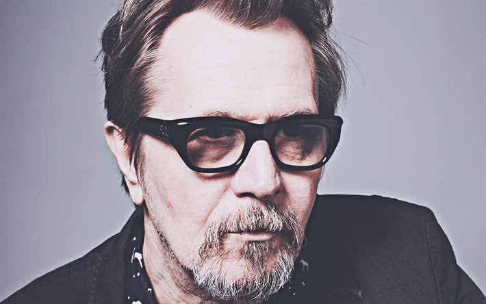 4k, Gary Oldman, 2019, american actor, movie stars, Gary Leonard Oldman, american celebrity, Gary Oldman photoshoot