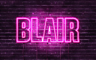 Download wallpapers Blair, 4k, wallpapers with names ...