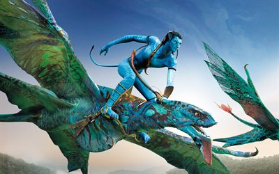 Avatar 2, 2021, promotional materials, poster, art, main character, Jake Sully, Avatar