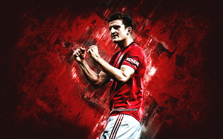 Download Wallpapers Harry Maguire, Manchester United FC