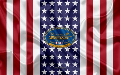 USS Harry S Truman Emblem, CVN-75, American Flag, US Navy, USA, USS Harry S Truman Badge, US warship, Emblem of the USS Harry S Truman