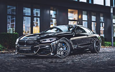 MANHART MH8 600, 4k, supercars, 2020 cars, Manhart Racing, tuning, german cars, BMW M850i MH8 600, G15, BMW