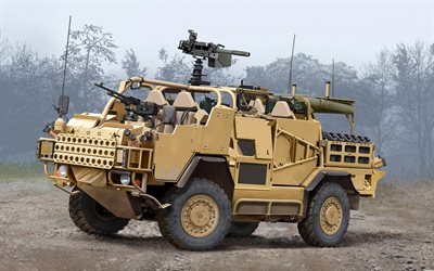MWMIK, Jackal, British Army, Supacat HMT400 Jackal, British armored cars, Supacat, armored cars