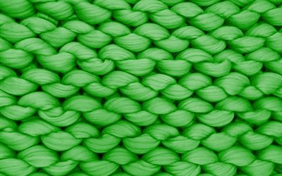 green rope texture, green knitted texture, green knitted background, rope texture, green thread texture