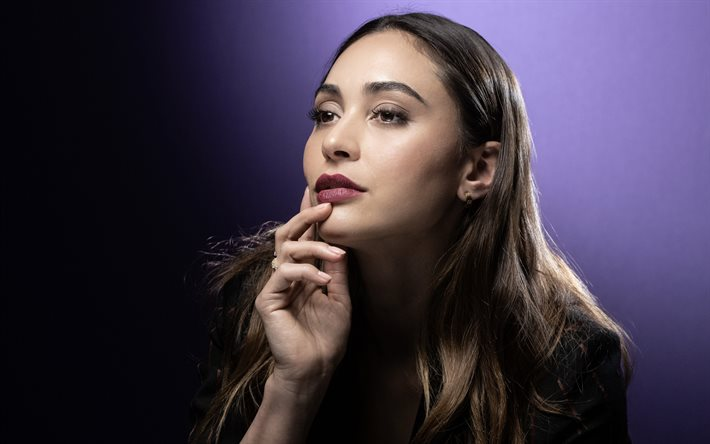 Lindsey Morgan, actrice américaine, portrait, photoshoot, maquillage, actrice populaire, star américaine