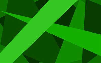 green lines, artwork, material design, geometric shapes, green backgrounds, geometric art, creative, background with lines