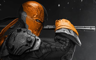 Joe Manganiello, 4k, supervillian, sanat, Deathstroke