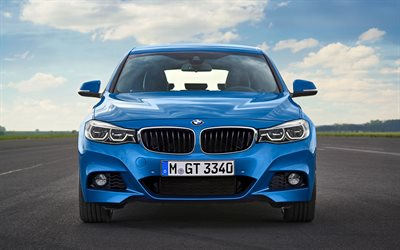 BMW 3 Series Gran Turismo, 2018, F34, front view, new cars, Gran Turismo, BMW