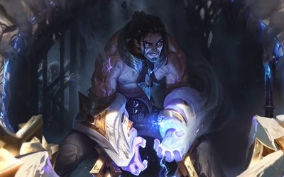 Sylas, artwork, League of Legends, 2018 games, MOBA, League of Legends characters