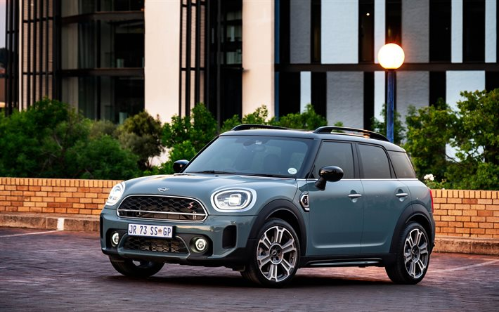 MINI Cooper S Countryman ALL4, 4k, F60, 2020 cars, ZA-spec, MINI