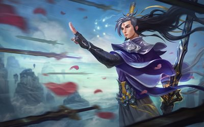 Master Yi, characters, art, League Of Legends