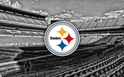 Pittsburgh Steelers, Heinz Field, American football team, Pittsburgh Steelers logo, emblem, Pittsburgh Steelers Stadium, American football stadium, NFL, American football, Pittsburgh, Pennsylvania, USA