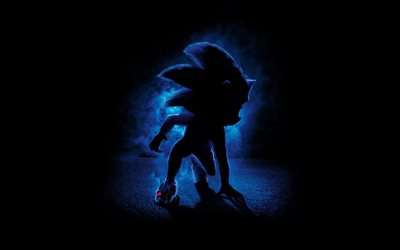 Sonic the Hedgehog, 2020, poster, promotional materials, new cartoons, hedgehog, м