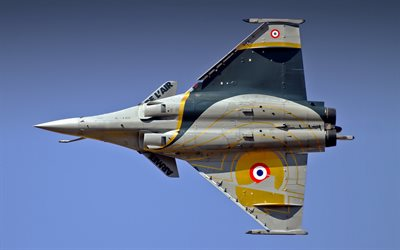 Dassault Rafale, French Air Force, French fighter, French combat aircraft, France, military aircraft