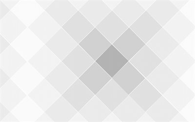 gray rhombus background, gray abstraction, background with rhombuses, grid background