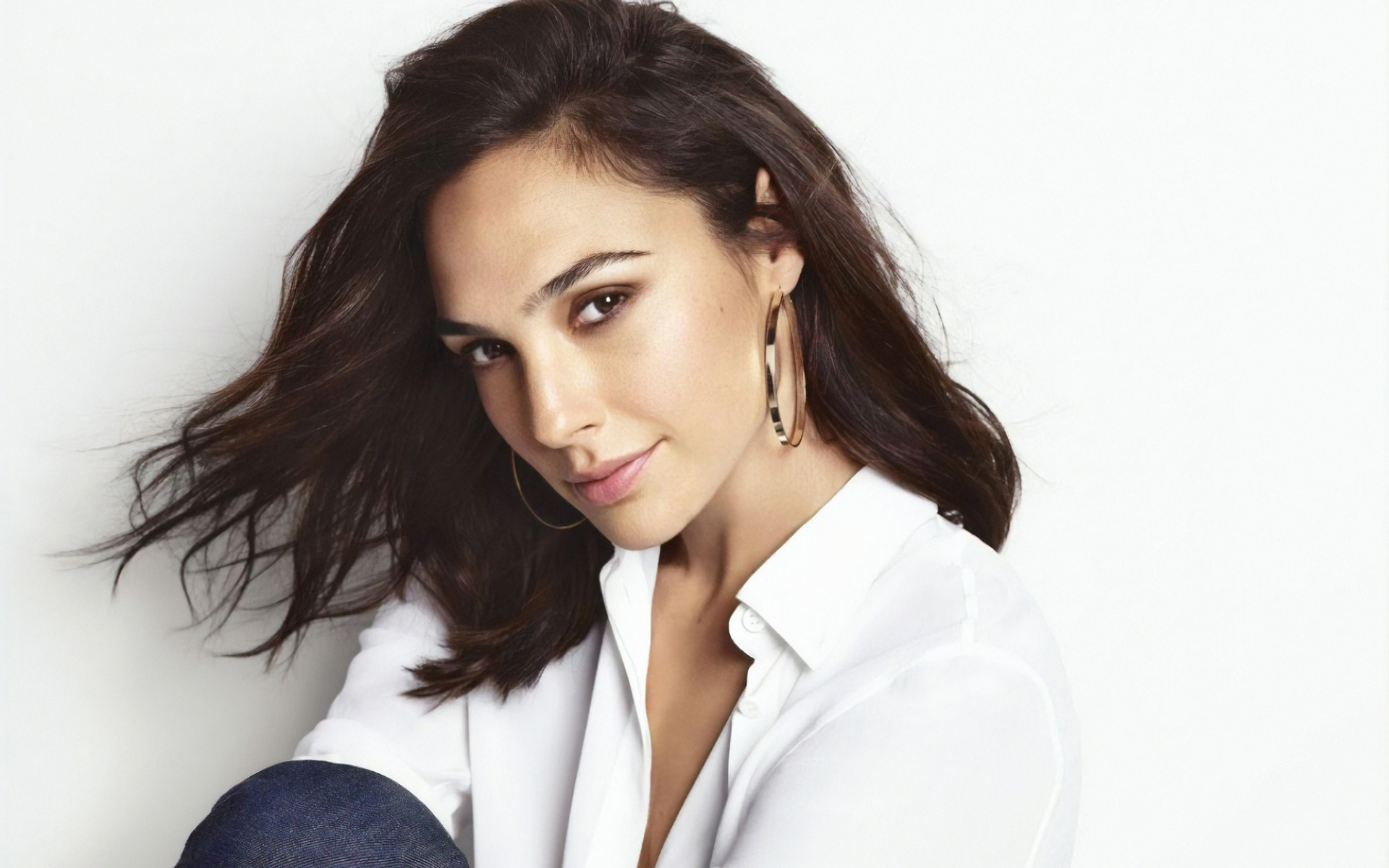 Gal Gadot, portrait, sorriso, photoshoot, Israeliano attrice, star di Hollywood, attrici famose