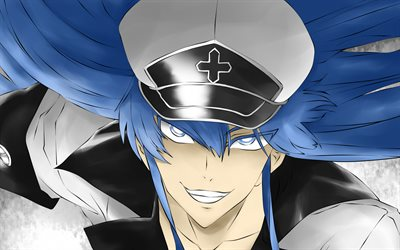 Esdeath, portrait, manga, Akame Ga Kill, artwork, Esdeath Akame Ga Kill