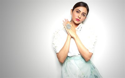 Rakul Preet Singh, ndian fashion model, white dress, indian actress, bollywood