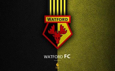 Download wallpapers Watford FC 4K English football club
