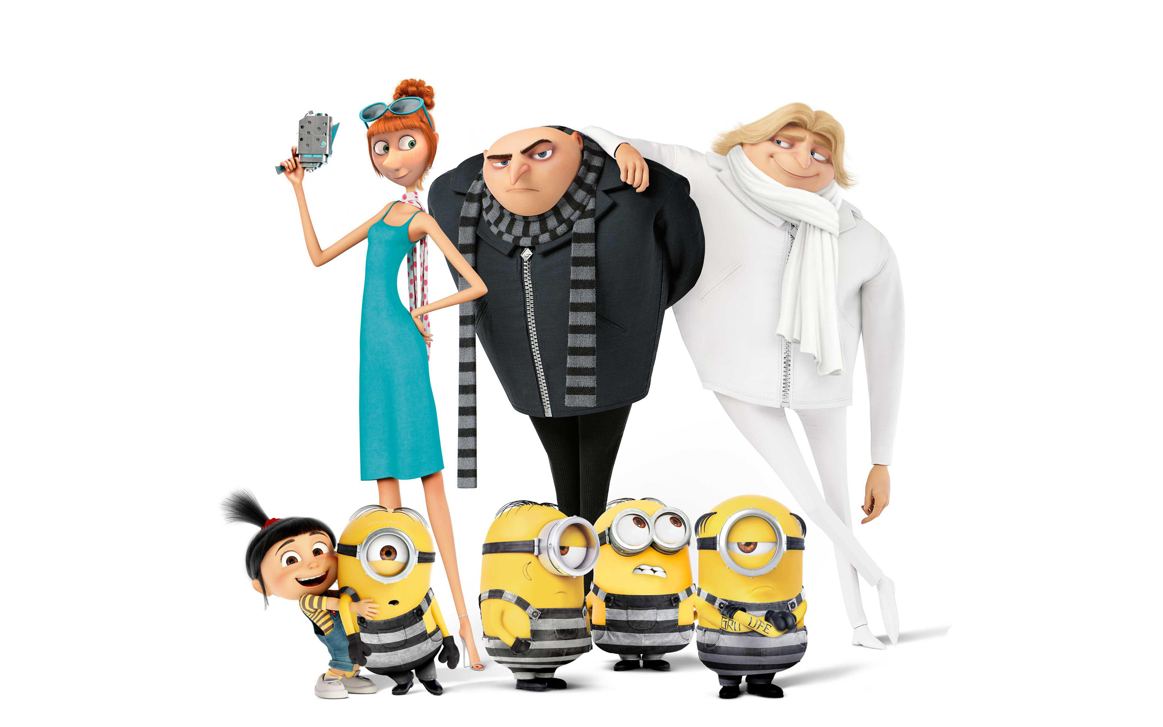 despicable me wallpaper minions 64 images - HD 3840×2400