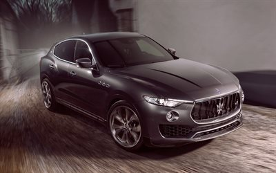 Novitec, tuning, Maserati Levante, 4k, 2017 cars, luxury cars, Levante, Maserati