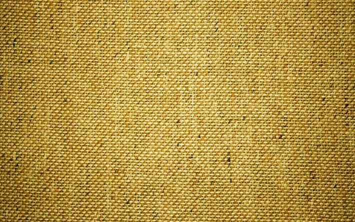 yellow sackcloth, 4k, yellow fabric, sackcloth textures, fabric backgrounds, fabric textures, yellow backgrounds, yellow sackcloth background