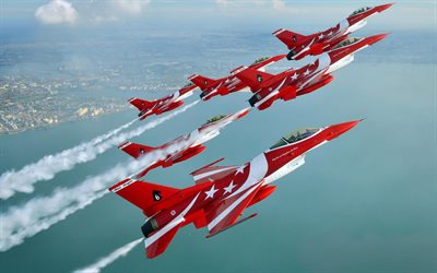 General Dynamics F-16 Fighting Falcon, RSAF Black Knights, F-16C Fighting Falcon, Singapore, fighter jets, Singapore Air Force
