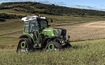 Fendt 200 Vario, tractor on tracks, agricultural machinery, modern tractors, Fendt