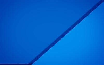 blue material design, triangle, geometric shapes, lollipop, triangles, creative, geometry, blue background