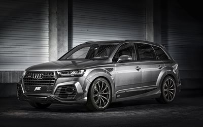 Audi Rs4 2016 >> Download wallpapers Audi SQ7, ABT, quattro, 2016, Tuning ...