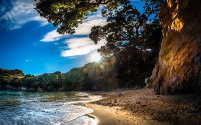 Abel Tasman, Golden Bay, Coast, beach, summer, New Zealand