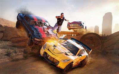 FlatOut 4 Total Insanity, 2017, FlatOut 4, new games