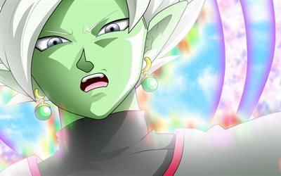 Dragon Ball, manga, Zamasu, anime characters
