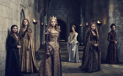 The White Princess, 5k, 2017 movie, TV series, Jodie Comer, Essie Davis