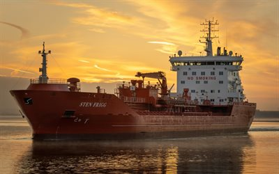 STEN FRIGG, Oil Products Tanker, Chemical Tanker, cargo ship, new ships
