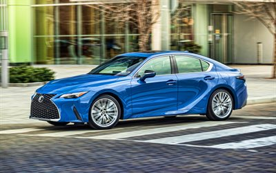 4k, Lexus IS 300, street, 2021 cars, garage, 2021 Lexus IS, HDR, japanese cars, Lexus