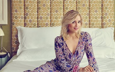 Dianna Agron, 2017, Hollywood, american actress, beauty, blonde