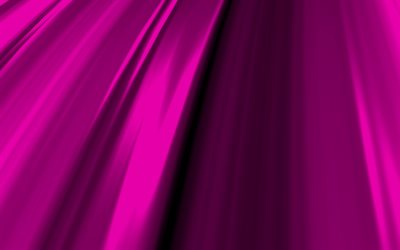purple 3D waves, 4K, wavy patterns, purple abstract waves, purple wavy backgrounds, 3D waves, background with waves, purple backgrounds, waves textures