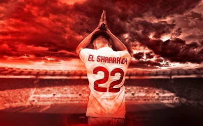 Stephan El Shaarawy, AS Roma, Italian soccer player, football, Serie A, Italy