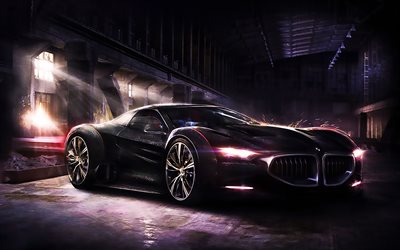BMW 8-Series, 2017 cars, art, tuning, BMW 8, supercars, BMW