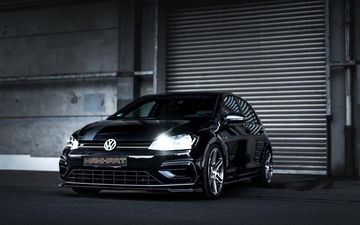Download Wallpapers Manhart Golf Rs 450 4k Tuning 2020 Cars Typ 5g Vw Golf Vii R 2020 Volkswagen Golf Volkswagen For Desktop Free Pictures For Desktop Free