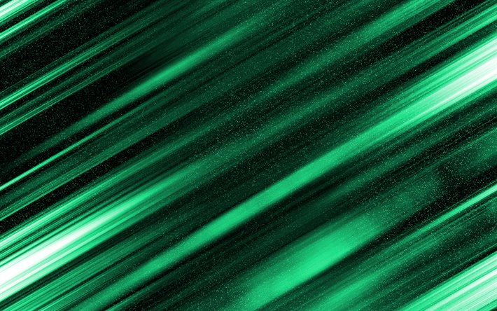 Download Wallpapers Green Abstract Background Green Lines