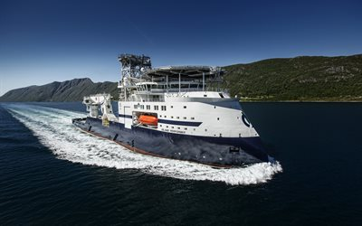 Island Performer, sea, Ulstein Verft, vessel, Offshore Supply Ship
